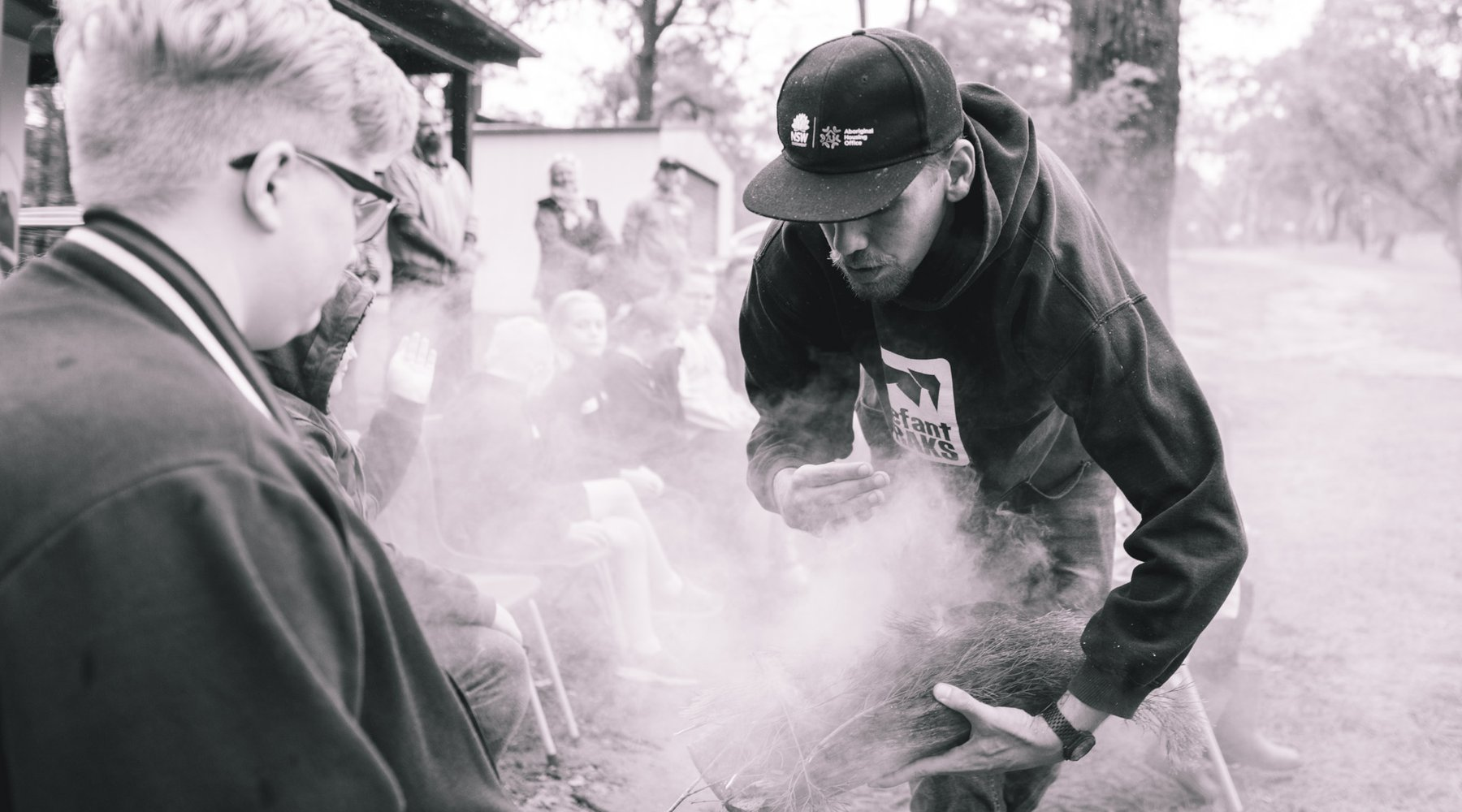 Smoking ceremony-Poet-Poetry in First Languages