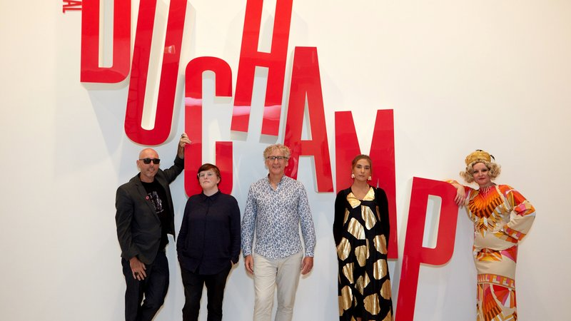 Punch lines: Poets Play Duchamp-Image-Poets-Red Room Poetry