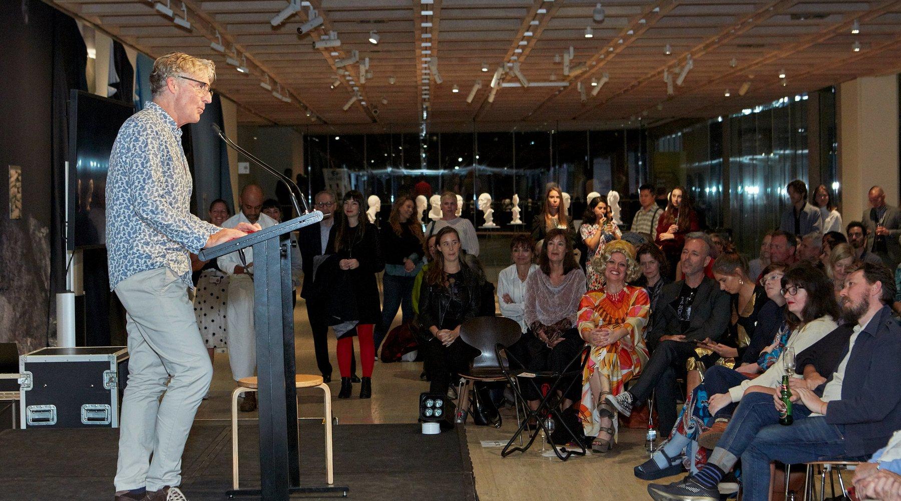 Punchlines Poets Play Duchamp-David Astle-Red Room poetry-Image-Art Gallery NSW-Poet